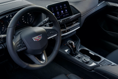 2022-Cadillac-CT4-V-First-Drive-Interior-002-cockpit-steering-wheel-center-stack-center-console