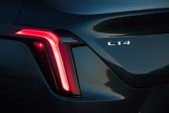 2020-Cadillac-CT4-350T-Premium-Luxury-Exterior-014-tail-lamp-and-CT4-logo-badge