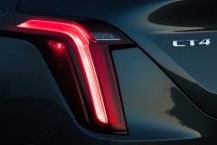 2020-Cadillac-CT4-350T-Premium-Luxury-Exterior-015-tail-lamp-and-CT4-logo-badge