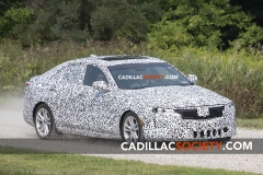 2020 Cadillac CT4 Luxury Spy Shots - Exterior - August 2018 004