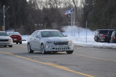 2020 Cadillac CT4 Premium Luxury - Exterior - Spy Shots - February 2014 001
