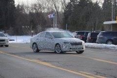2020 Cadillac CT4 Premium Luxury - Exterior - Spy Shots - February 2014 004