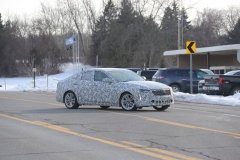 2020 Cadillac CT4 Premium Luxury - Exterior - Spy Shots - February 2014 005
