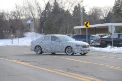 2020 Cadillac CT4 Premium Luxury - Exterior - Spy Shots - February 2014 006