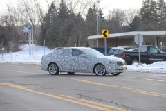 2020 Cadillac CT4 Premium Luxury - Exterior - Spy Shots - February 2014 007