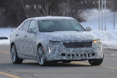 2020 Cadillac CT4 Premium Luxury - Exterior - Spy Shots - February 2014 015