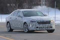 2020 Cadillac CT4 Premium Luxury - Exterior - Spy Shots - February 2014 016