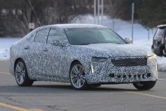 2020 Cadillac CT4 Premium Luxury - Exterior - Spy Shots - February 2014 017