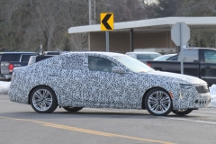 2020 Cadillac CT4 Premium Luxury - Exterior - Spy Shots - February 2014 018