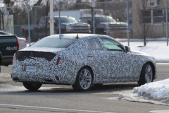 2020 Cadillac CT4 Premium Luxury - Exterior - Spy Shots - February 2014 020