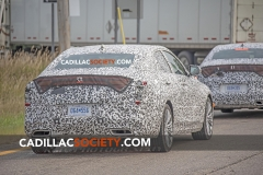 2020 Cadillac CT4 Premium Luxury Spy Shots - Exterior - August 2018 006