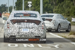 2020 Cadillac CT4 Premium Luxury Spy Shots - Exterior - August 2018 007