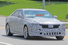 2020 Cadillac CT4 Sedan Spy Pictures - Exterior - August 2018 004
