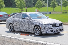 2020 Cadillac CT4 Sedan Spy Pictures - Exterior - August 2018 005