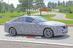 2020 Cadillac CT4 Sedan Spy Pictures - Exterior - August 2018 006