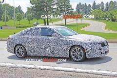 2020 Cadillac CT4 Sedan Spy Pictures - Exterior - August 2018 006