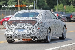 2020 Cadillac CT4 Sedan Spy Pictures - Exterior - August 2018 010