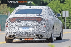 2020 Cadillac CT4 Sedan Spy Pictures - Exterior - August 2018 012
