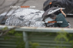 2020 Cadillac CT4 Sedan Spy Pictures - Exterior - August 2018 016 - open trunk