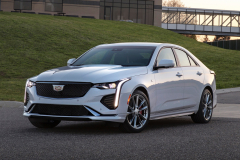 2020-Cadillac-CT4-Sport-Exterior-004-front-three-quarters