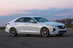 2020-Cadillac-CT4-Sport-Exterior-006-front-three-quarters