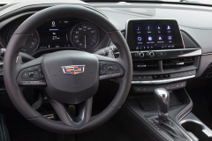 2020-Cadillac-CT4-Sport-Interior-002-cockpit-with-steering-wheel