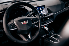 2020-Cadillac-CT4-Sport-Sedan-Interior-004-steering-wheel-instrumentation-center-console