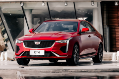 2020-Cadillac-CT4-Sport-Sedan-Red-Obsession-Tintcoat-Exterior-006-front-three-quarters