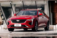 2020-Cadillac-CT4-Sport-Sedan-Red-Obsession-Tintcoat-Exterior-006-front-three-quarters