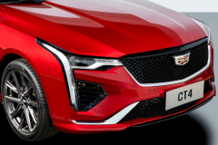 2020-Cadillac-CT4-Sport-Sedan-Red-Obsession-Tintcoat-Exterior-018-front-fascia