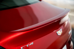2020-Cadillac-CT4-Sport-Sedan-Red-Obsession-Tintcoat-Exterior-022-lip-spoiler