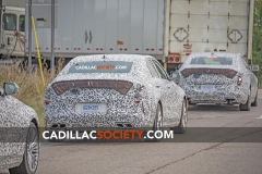 2020 Cadillac CT4 Sport Spy Shots - Exterior - August 2018 010