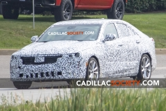 2020 Cadillac CT4 Sport Spy Shots - Exterior - August 2018 012