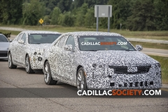 2020 Cadillac CT4 Sport Spy Shots - Exterior - August 2018 014