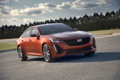 2020 Cadillac CT5-V Exterior 003 front three quarters
