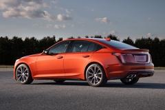 2020 Cadillac CT5-V Exterior 007 rear three quarters