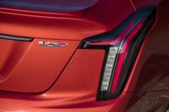 2020 Cadillac CT5-V Exterior 009 V badge logo
