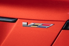2020 Cadillac CT5-V Exterior 010 V badge logo