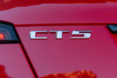 2020-Cadillac-CT5-V-First-Drive-Exterior-017-CT5-logo-badge-on-trunk