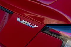 2020-Cadillac-CT5-V-First-Drive-Exterior-018-V-badge-logo-on-trunk