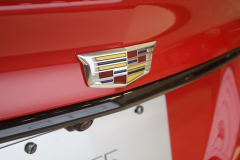 2020-Cadillac-CT5-V-Sedan-in-Velocity-Red-at-2019-Miami-International-Auto-Show-010-Cadillac-badge-logo