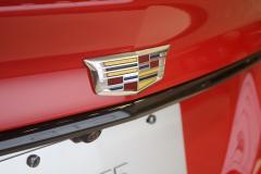 2020-Cadillac-CT5-V-Sedan-in-Velocity-Red-at-2019-Miami-International-Auto-Show-010-Cadillac-badge-logo