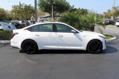 2020-Cadillac-CT5-V-Summit-White-20-inch-Gloss-Black-Wheels-SSJ-Exterior-004