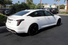 2020-Cadillac-CT5-V-Summit-White-20-inch-Gloss-Black-Wheels-SSJ-Exterior-005
