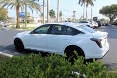 2020-Cadillac-CT5-V-Summit-White-20-inch-Gloss-Black-Wheels-SSJ-Exterior-009