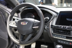 2019 Cadillac CT5 Sport - 2019 New York International Auto Show - Interior 003 - steering wheel