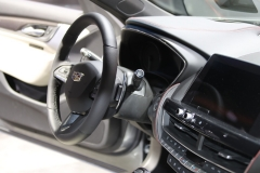2019 Cadillac CT5 Sport - 2019 New York International Auto Show - Interior 004 - steering wheel