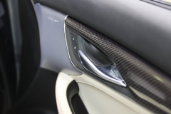 2019 Cadillac CT5 Sport - 2019 New York International Auto Show - Interior 008 - inside passenger door handle and trim