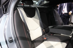 2019 Cadillac CT5 Sport - 2019 New York International Auto Show - Interior 014 - rear seat