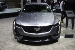 2020 Cadillac CT5 350T Sport - 2019 New York Internation Auto Show Live - Exterior 001 front end